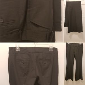The Limited Pants - The Limited Drew Fit black dress pants 4S